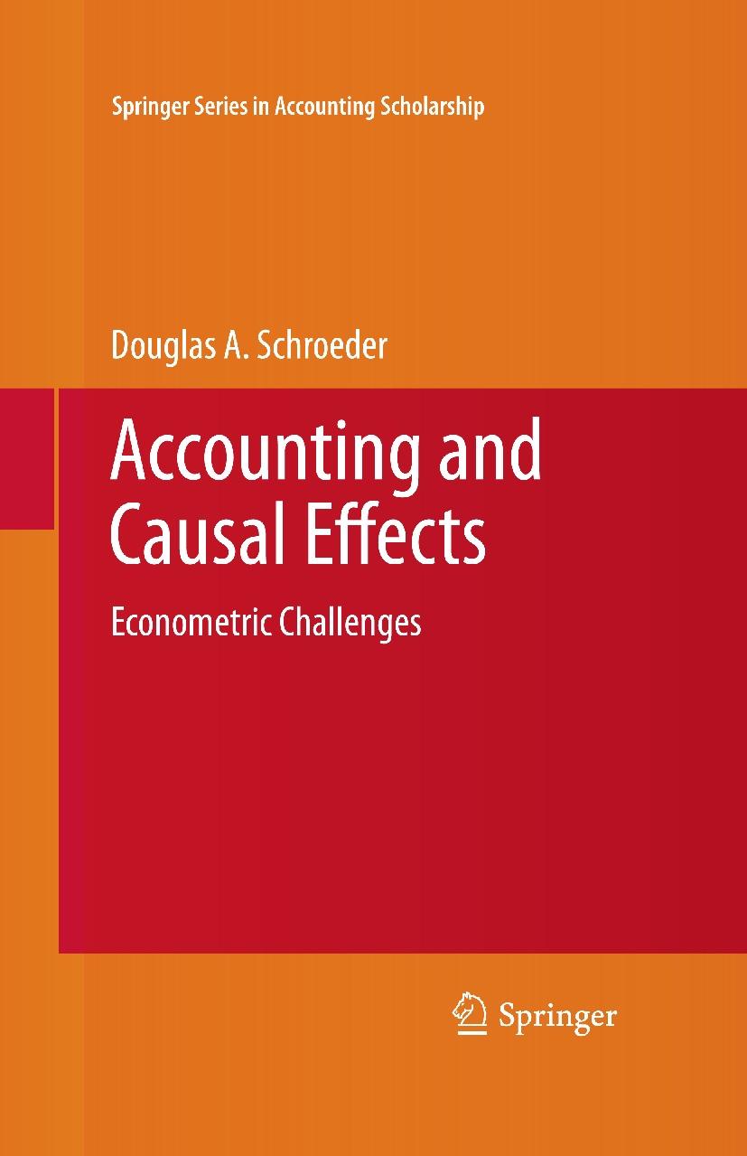 کتاب حسابداری و اثرات علی آن
